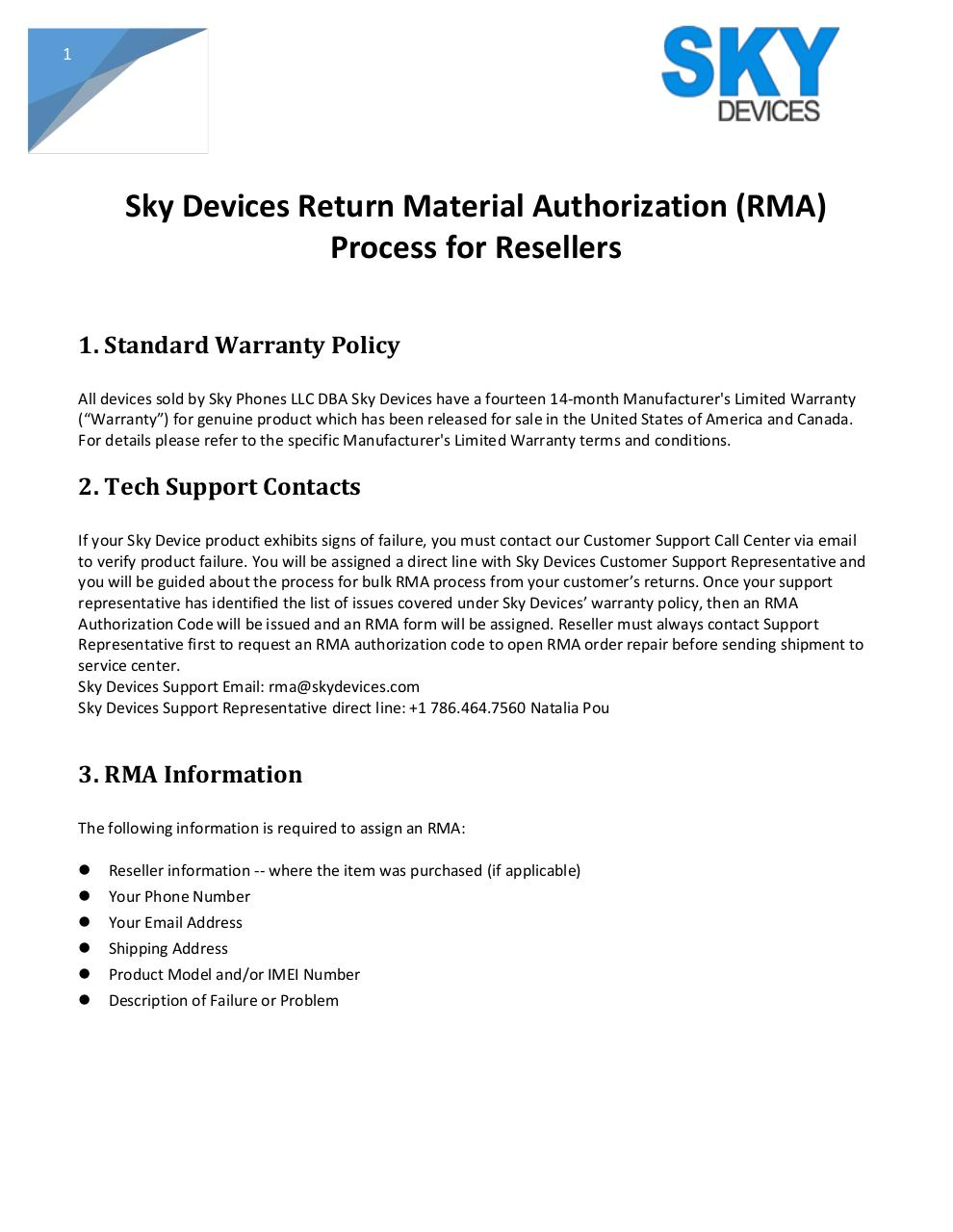 RMA Policy Process Resellers (2).pdf - page 1/6