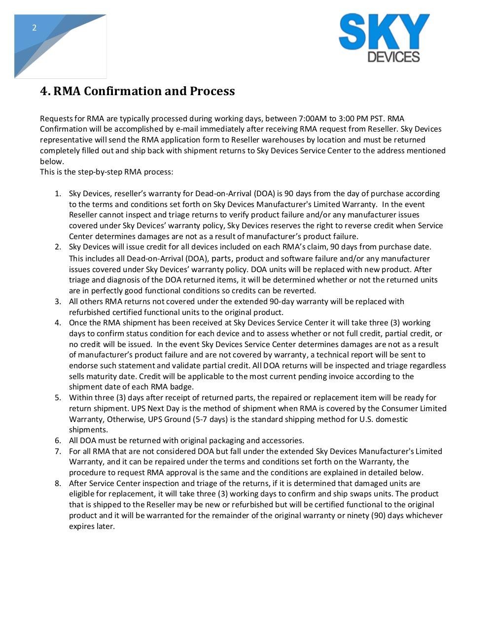 RMA Policy Process Resellers (2).pdf - page 2/6