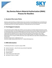 rma policy process resellers 2