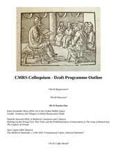 cmrs draft programme outline