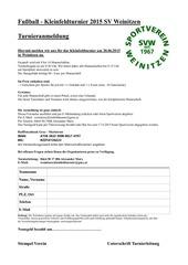 PDF Document anmeldeformular kleinfeldturnier herren
