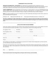 membership app form ydgc