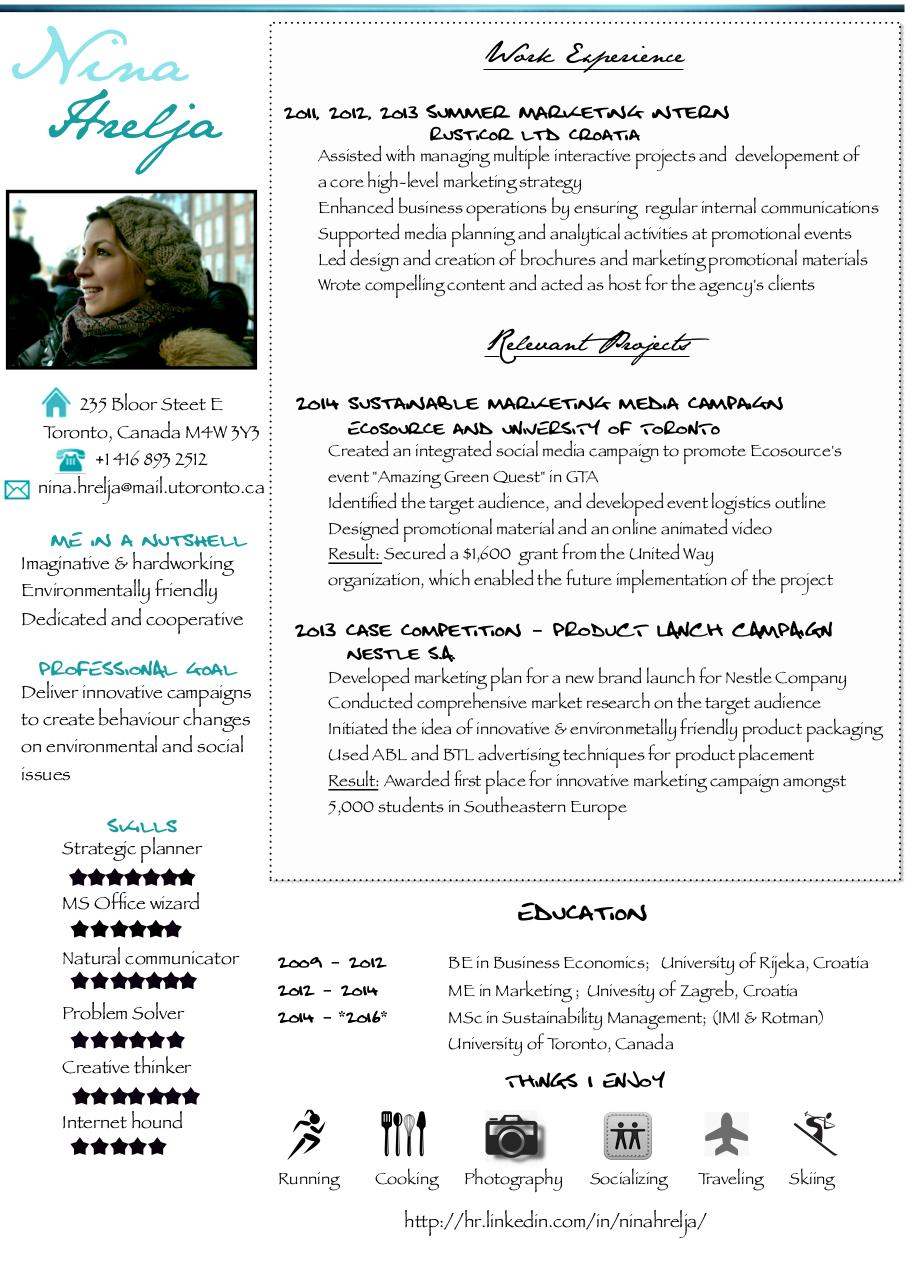 Document preview Nina Hrelja - Resume.pdf - page 1/1
