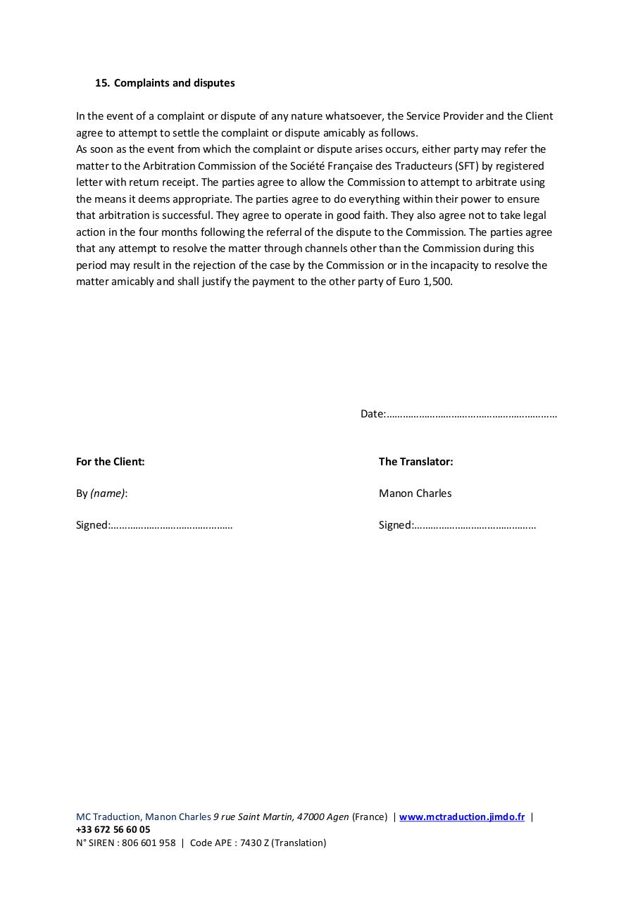 Document preview general terms and conditions.pdf - page 5/5