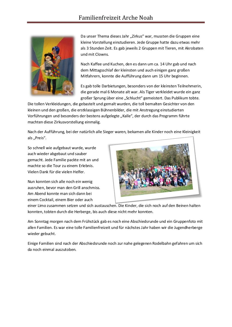 Document preview Bericht Familienfreizeit 2015.pdf - page 2/2