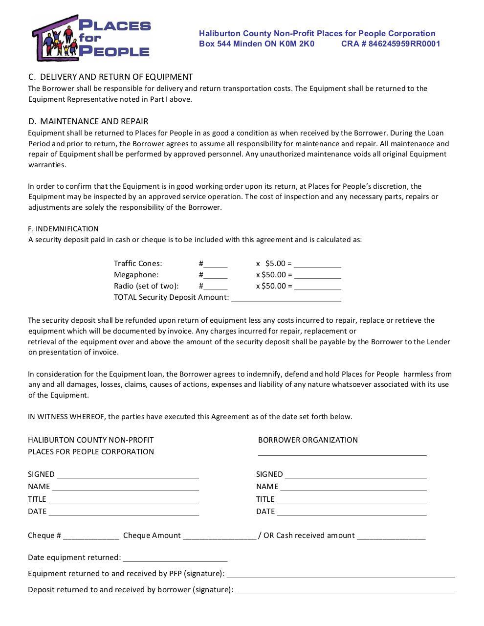 Short Term Loan Agreement Form rent eviction notice sample – Cash Loan Agreement