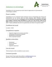PDF Document poste animanature 2015