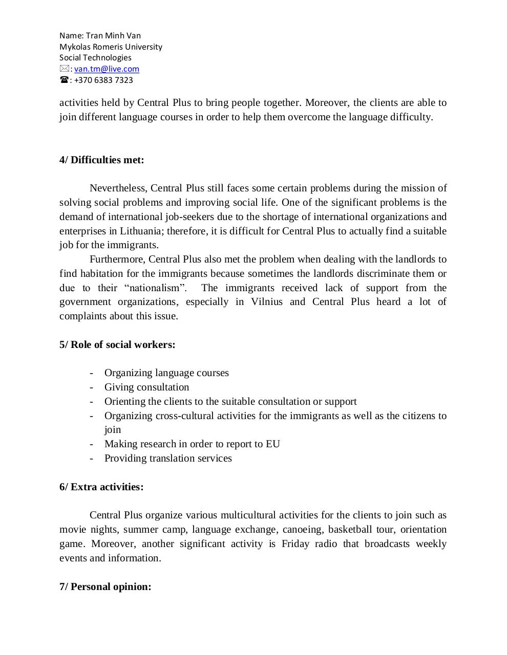 Document preview Central_Plus_Reflection_Van_Tran.pdf - page 2/3