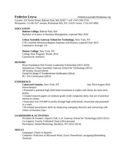 resume april24 1