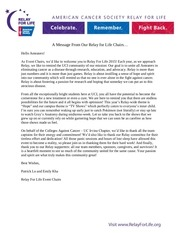 uci relay for life program 2015