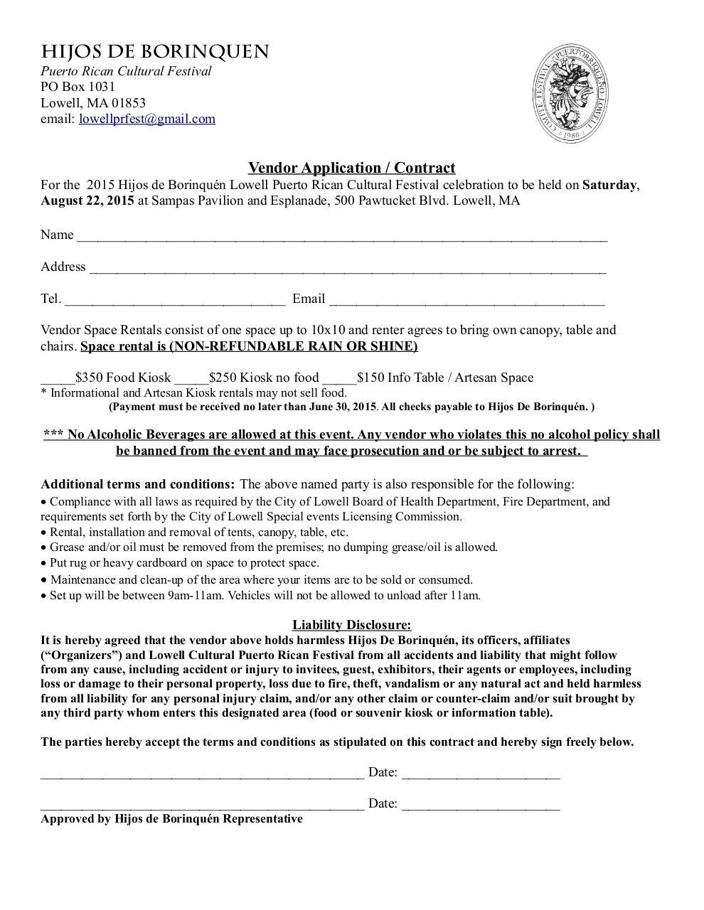 Vendor Contract By Jeffrey Hernandez PDF Archive