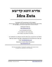 idrazuta dailyzohar