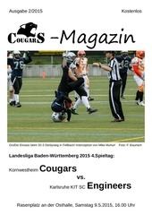 PDF Document cougars magazin vs karlsruhe