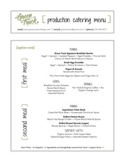 PDF Document green truck menu production catering