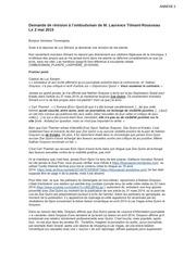 demande revision laurence tilmant rousseau