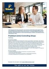 praktikant controlling shops