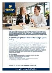 praktikant unternehmenssteuerung logistik