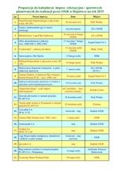 kalendarz imprez na rok 2015 pdf