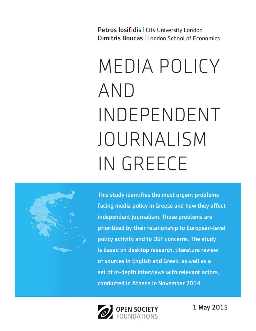 media-policy-independent-journalism-greece-20150511.pdf - page 1/44