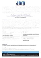 PDF Document abschluss projekt oder freie mitarbeit spamassassin