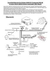 PDF Document einbau tempomat waeco ms 50 w124 300ced