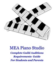 guild auditions requirements for mea piano studio