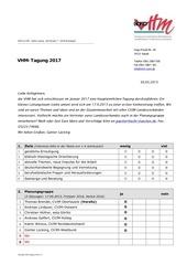 umfrage vhm tagung 2017
