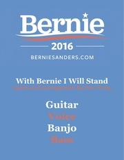 with bernie i will stand