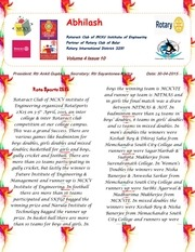 abhilash volume 4 issue 10