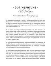 the olympus saga dopinephrine 1