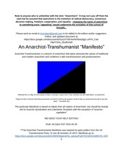 anarchist transhumanistmanifesto