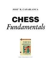 chess ebook capablanca chess fundamentals