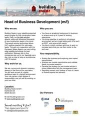 director business development