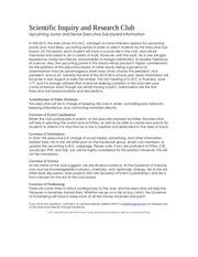 scientific inquiry and research club executive subboard