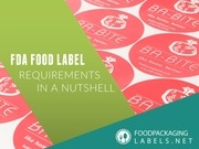 PDF Document fda food label requiremens in a nutshell