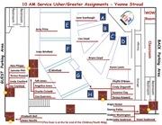10 am usher greeter assignments 3 4 5 sundays 2