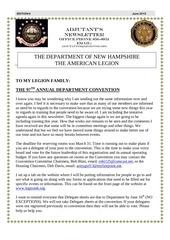 adjutant s newsletter edition june 2015