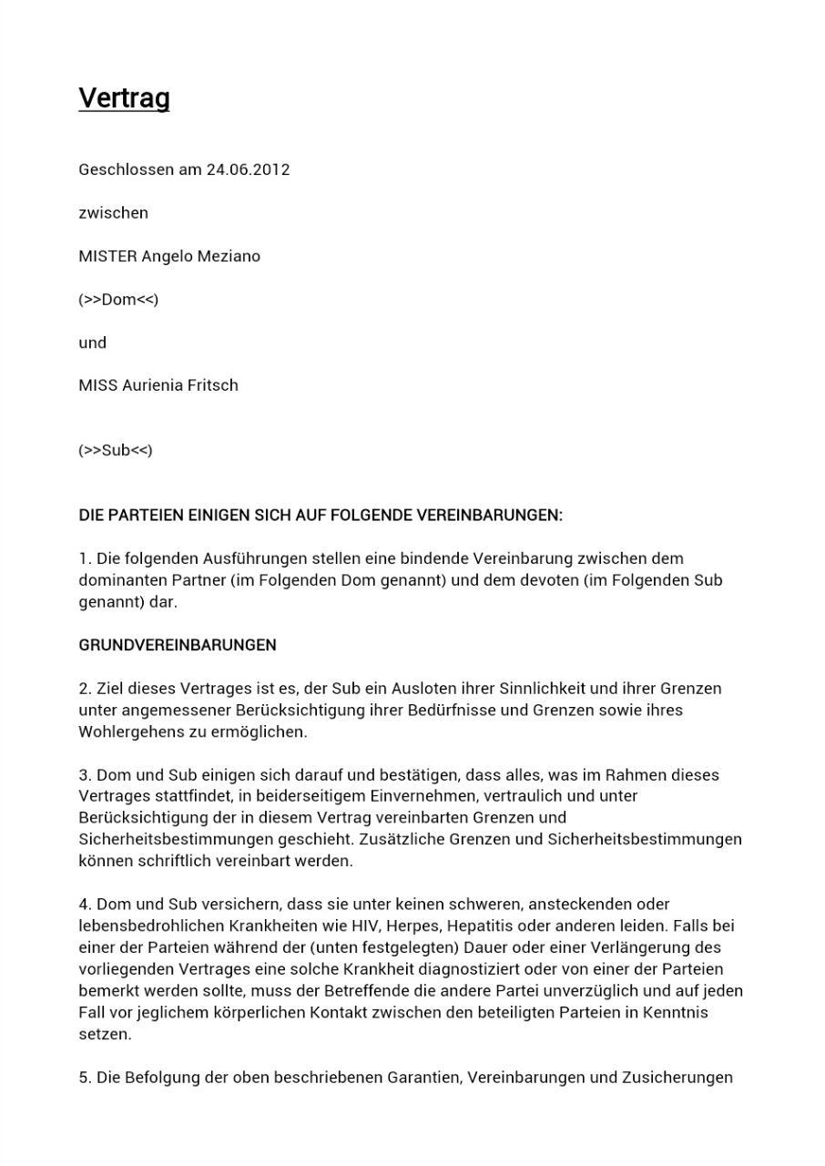 Großartig Vertrag Vereinbarung Zwischen Zwei Parteien Galerie ...