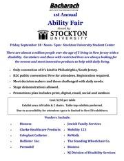 exhibitor flyer