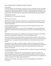 australian government treason