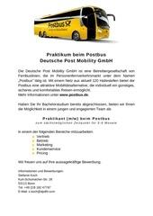 PDF Document ausschreibung praktikum postbus 03