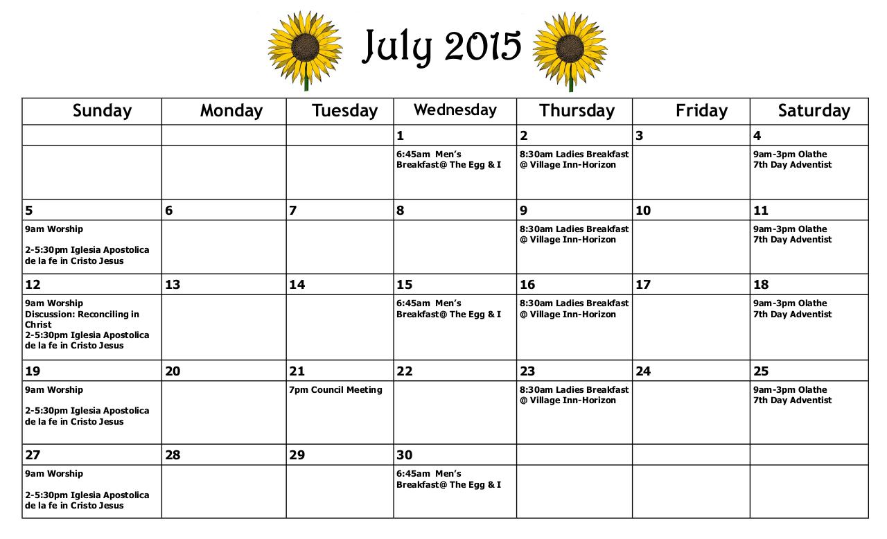 Document preview July 2015 calendar.pdf - page 1/1