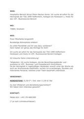 PDF Document stellenausschreibung hoffenheim