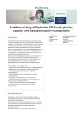 PDF Document praktikum in der globalen logistik und modulplanung