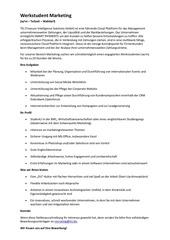 PDF Document werkstudent marketing