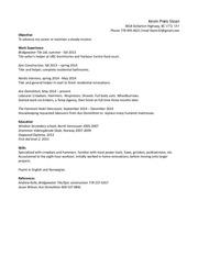 resume labourerv4