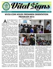 vs 01 wvsu com holds freshmen orientation program 2015