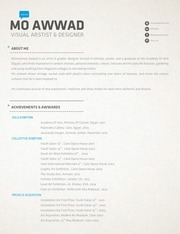 PDF Document my art resume