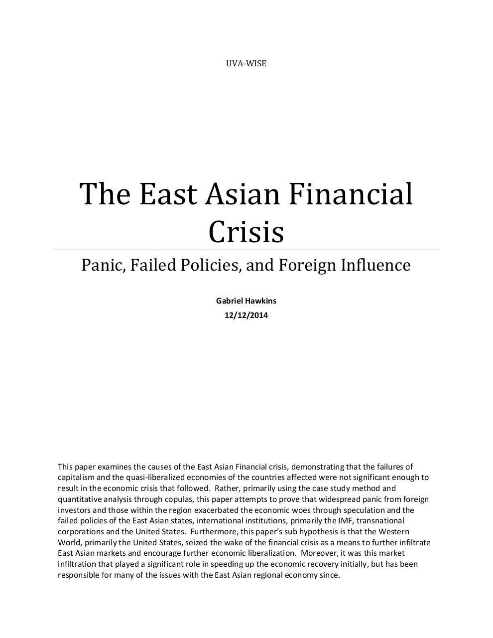 East Asian Financial Crisis.pdf - page 1/33