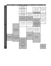 orientation week schedule final draft